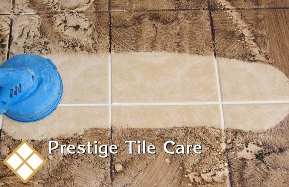 tile and grout steam cleaning services